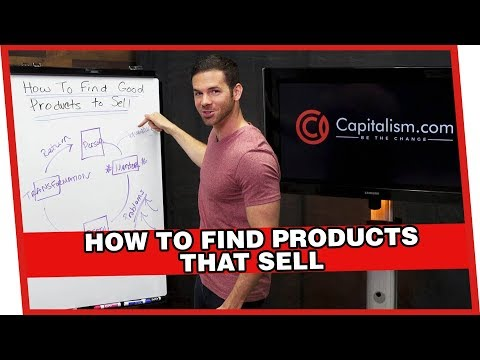 How to Find Products That Sell