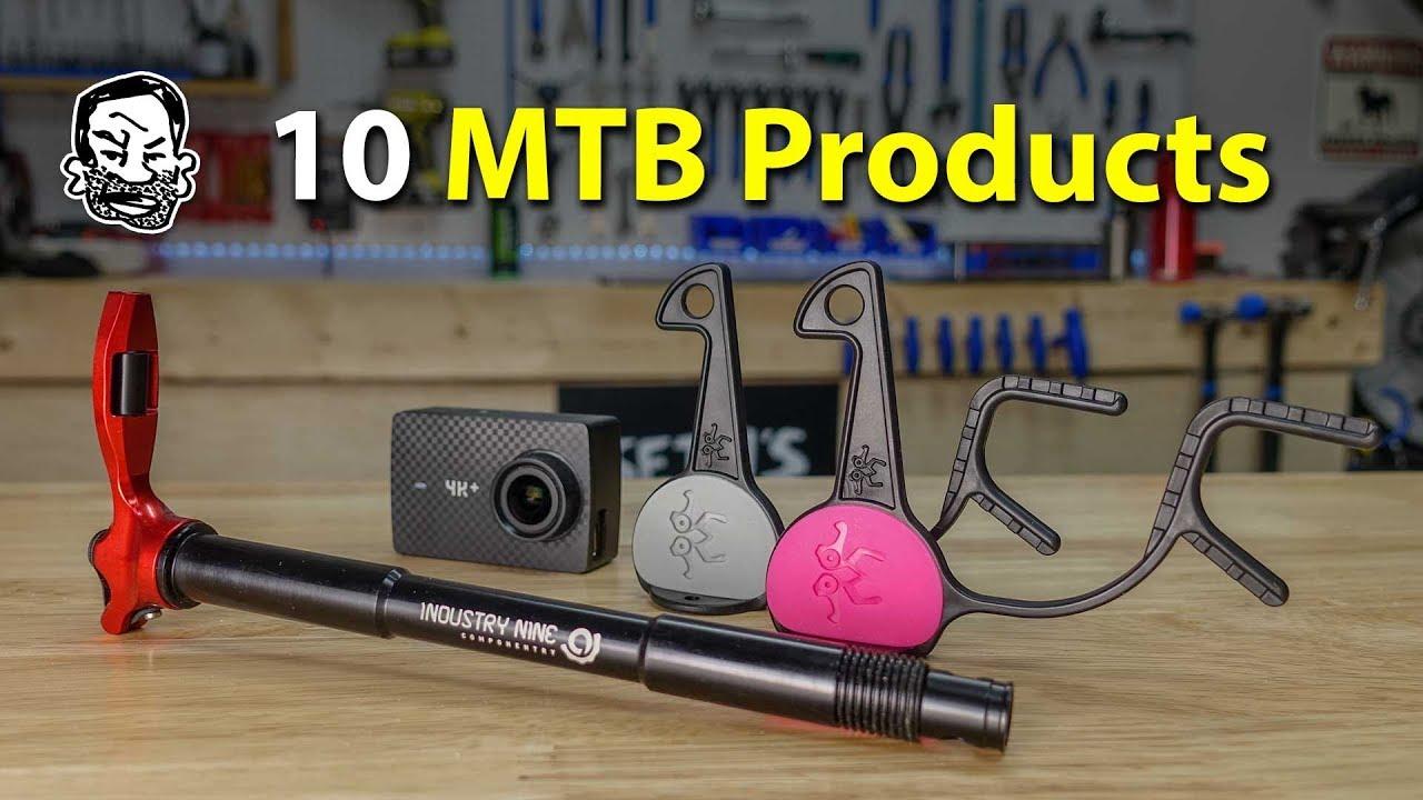 10 MTB Product Reviews from Helmet Hooks to Multi Tools
