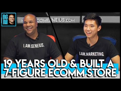 MEET VINCE WANG: BUILT A 7-FIGURE ECOMMERCE