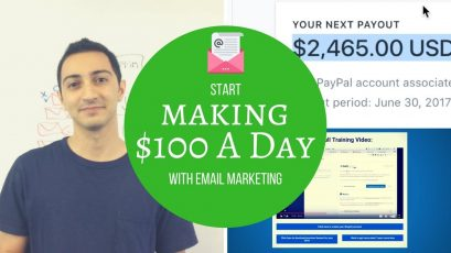 START MAKING $100 A DAY WITH EMAIL MARKETING
