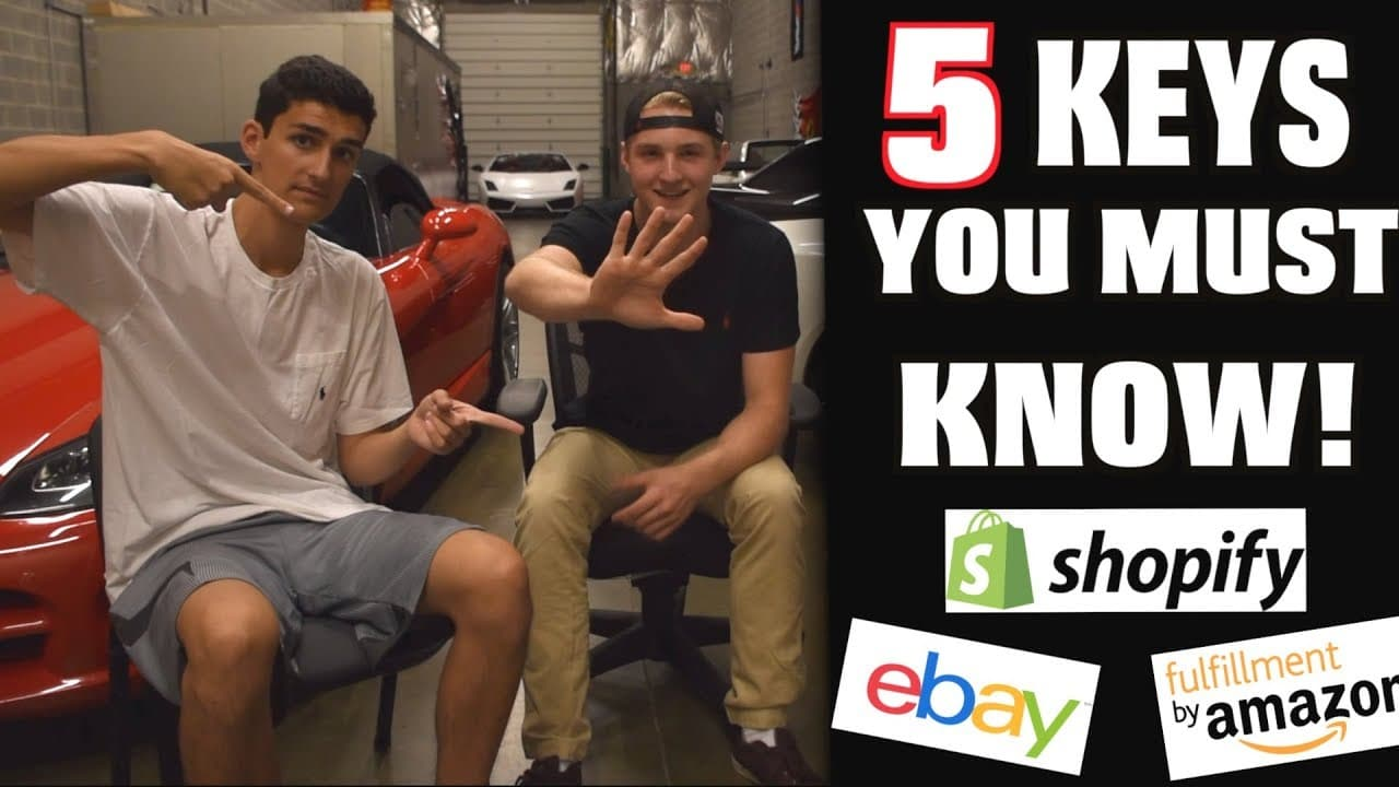 5 Things You MUST Know Before Starting an E-Commerce Business!!