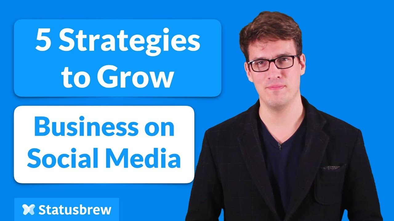 SOCIAL MEDIA: 5 STRATEGIES FOR SMALL BUSINESS