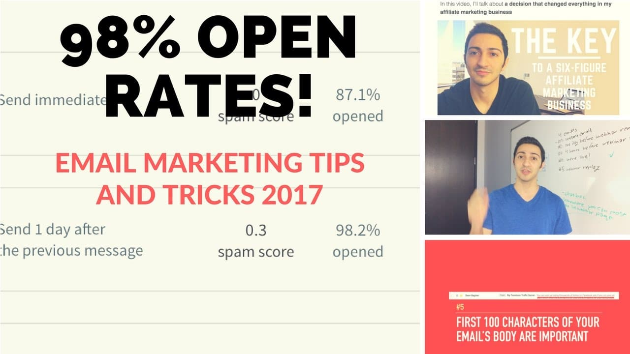 10 EMAIL MARKETING TIPS AND TRICKS