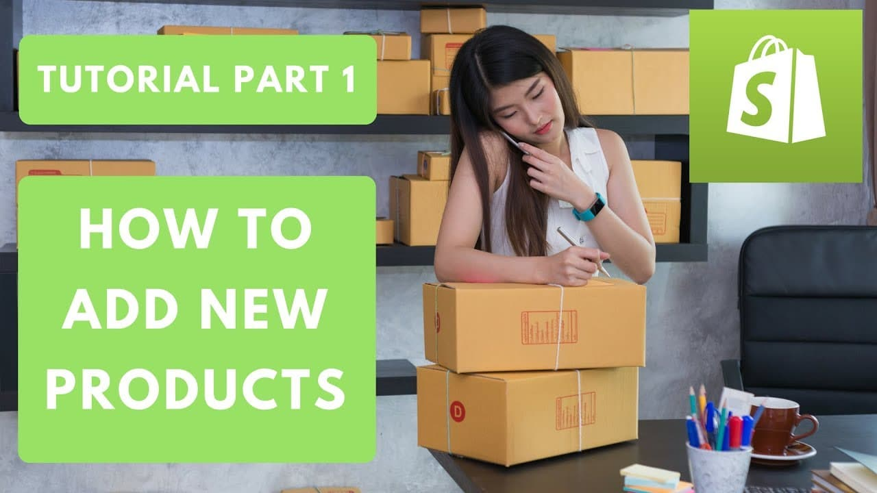 HOW TO ADD NEW PRODUCTS ON SHOPIFY PART 1
