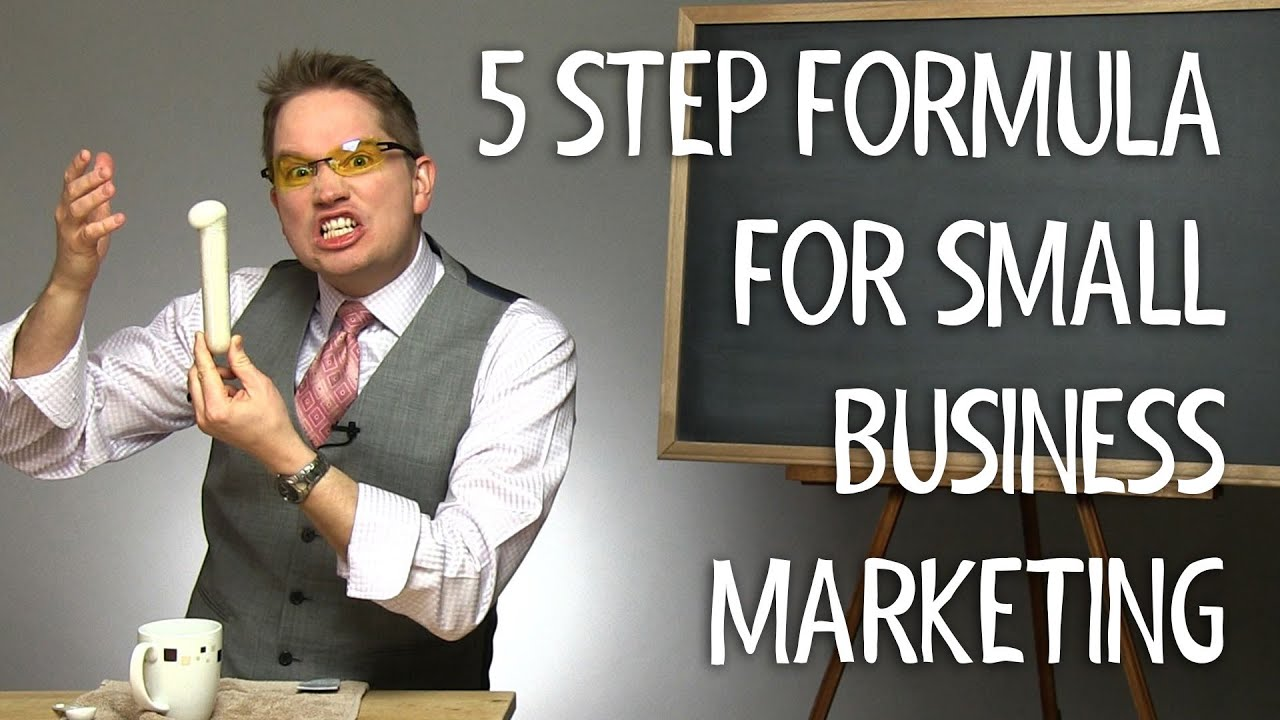 5 Step Formula for Small Business Marketing