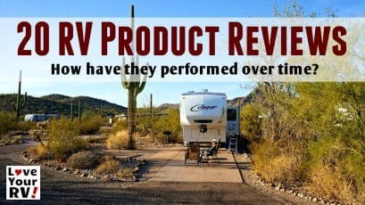 20 LOVE YOUR RV PRODUCT REVIEWS AND MODS