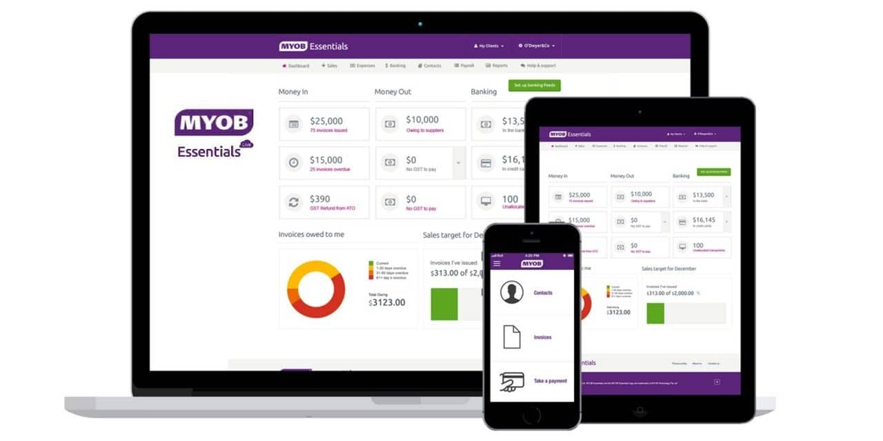 MYOB Business Essentials – Product Overview
