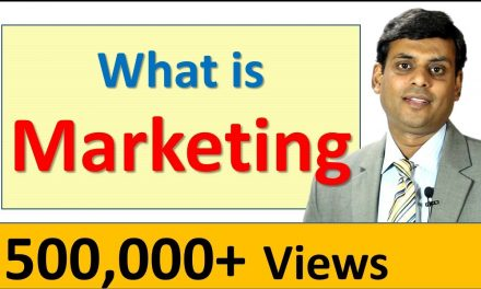 MARKETING MANAGEMENT VIDEO LECTURE BY PROF. VIJAY