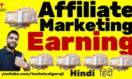 [Hindi] Online Earning from Affiliate Marketing | Amazon, Flipkart Etc
