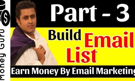 HOW TO BUILD EMAIL LIST | LEARN EMAIL MARKETING