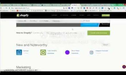 shopify A-Z     شرح انشاء متجر شوبيفاي بالدارجة من البداية