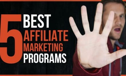 5 BEST AFFILIATE MARKETING PROGRAMS