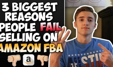 3 REASONS PEOPLE FAIL WHEN SELLING / AMAZON FBA