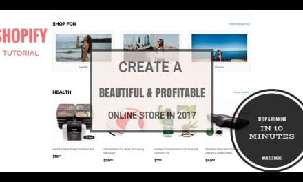 SHOPIFY TUTORIAL- HOW TO BUILD AN ONLINE STORE