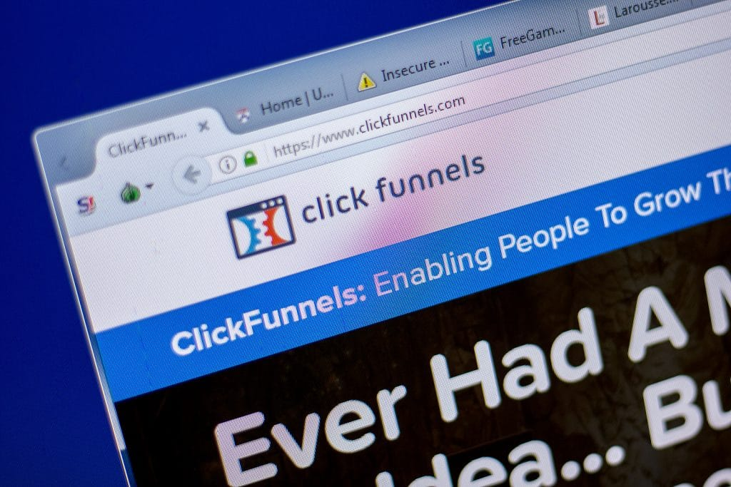 Click Funnels is a great platform for selling physical products