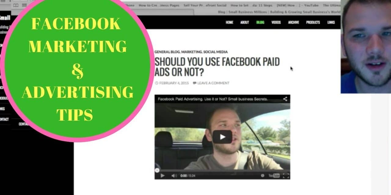 How To Advertise And  Market On Facebook For Free