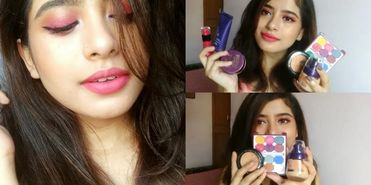 BLUE HEAVEN One Brand Look + Mini Product Reviews | Anindita Chakravarty