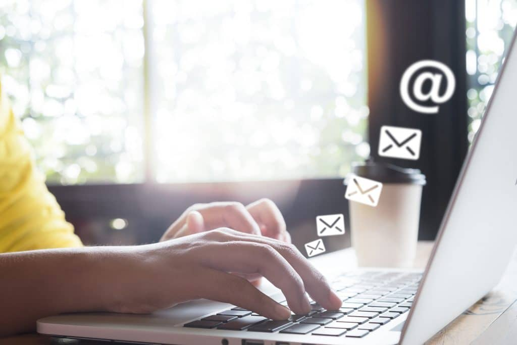 human interaction to help you build your email list