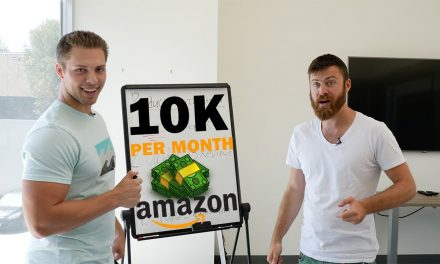 STUDENT DOES $10,000 A MONTH WITH AMAZON FBA!!