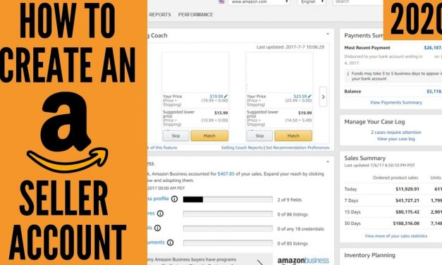 How To Setup Your Amazon Seller Central Account 2020 (Step-By-Step Tutorial)   Seller Registration
