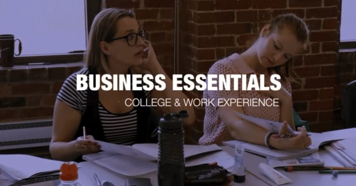 COLLEGE STUDY & WORK IN VANCOUVER   BUSINESS ESSENTIALS
