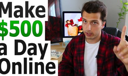 HOW TO MAKE $500 A DAY ONLINE WITH AFFILIATE MARKETING