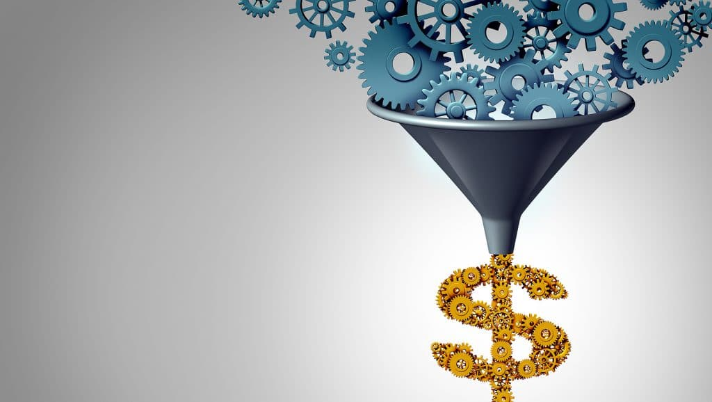diving hard within the sales funnel