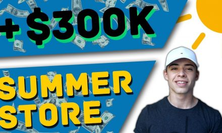 Summer Shopify Products that Will Make 300K