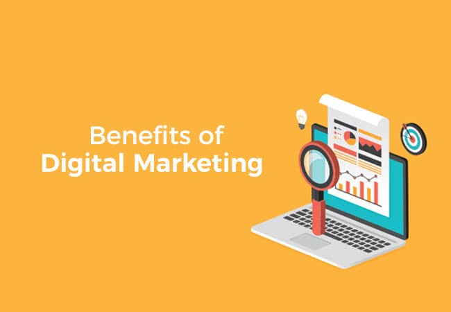 Benefit on digital marketing