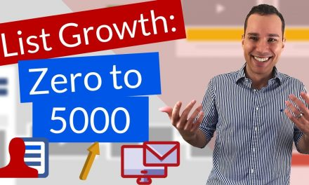 Email Marketing Tutorial For Beginners – Get Your First 5,000 Sub