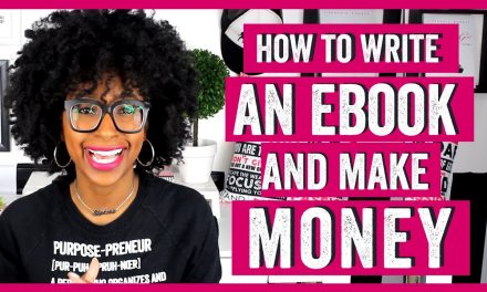 HOW TO WRITE AN EBOOK AND MAKE MONEY WITH PHYSICAL PRODUCTS