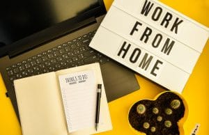 work more efficiently from home