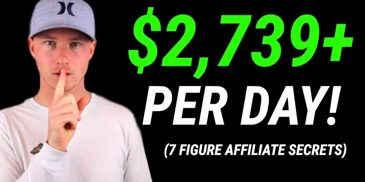 Make Money With Affiliate Marketing! 7-Figure Affiliate Secrets