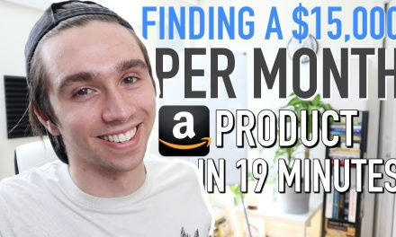 Amazon FBA Product Research Technique That Found Me a $15,000 Per Month Product in 19 Minutes!