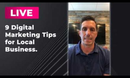 LIVE:  9 Digital Marketing Tips for Small Business