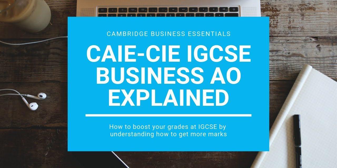 How to Improve Grades in IGCSE Business Studies