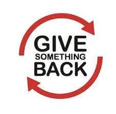 give back something