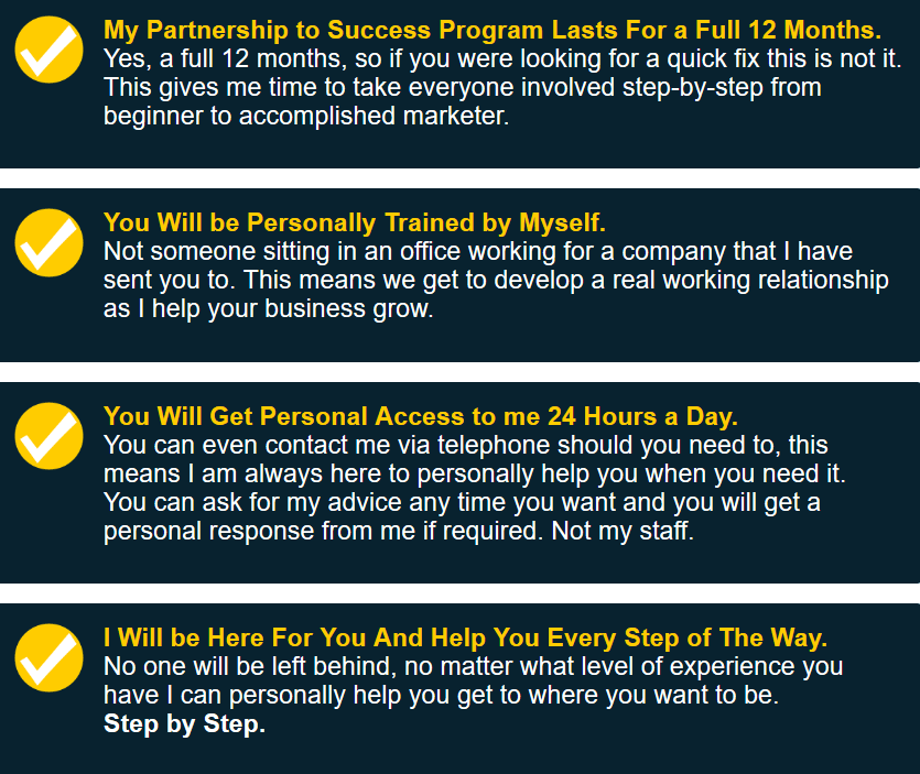 Partnership to Success Program