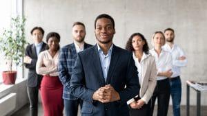 Career Growth Motivation, Entrepreneurship Concept